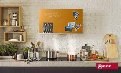 Kreative dunstabzugshauben von neff für kreative küchen türen